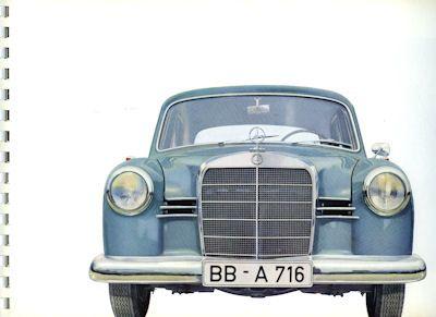 Mercedes-Benz 180 Prospekt 7.1959 1