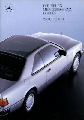 Mercedes-Benz 230 CE 300 CE Prospekt 1988