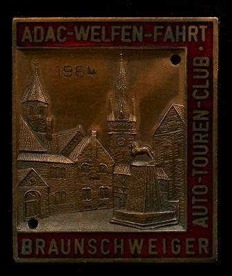 Plakette Braunschweig 1964 0