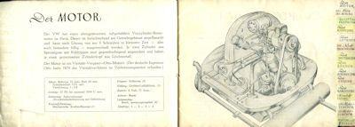 VW Broschüre ca. 1950 1