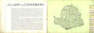 VW Broschüre ca. 1950 2