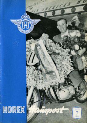 Horex Hauspost 1952 Heft 7