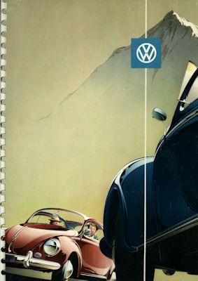 VW Käfer Prospekt 1956
