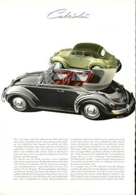 VW Käfer Prospekt 1956 1