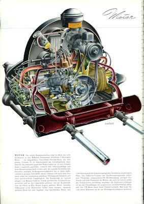 VW Käfer Prospekt 1956 3