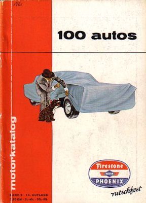 Motorkatalog 100 Autos Band 2 1961