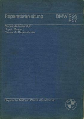 BMW R 26 / 27 Reparaturanleitung 1966/67