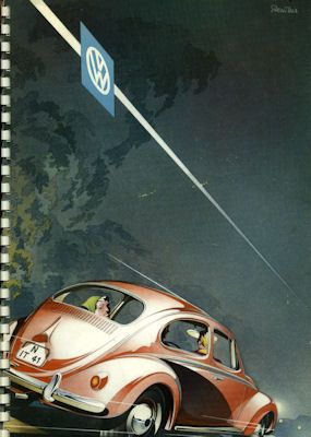 VW Käfer Prospekt 1957