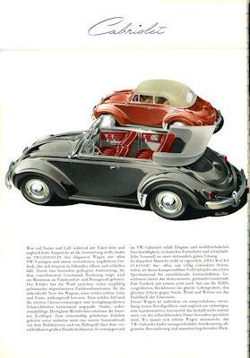 VW Käfer Prospekt 1957 1