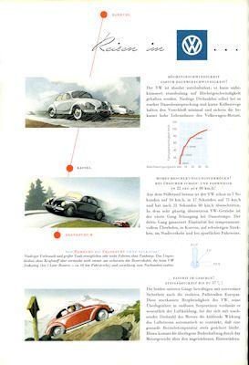 VW Käfer Prospekt 1957 2