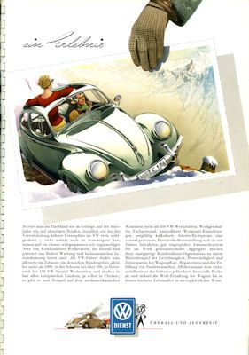 VW Käfer Prospekt 1957 3