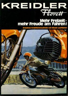 Kreidler Florett Prospekt 9.1971 0