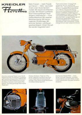 Kreidler Florett Prospekt 9.1971 1
