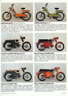 Kreidler Programm 3.1972 1