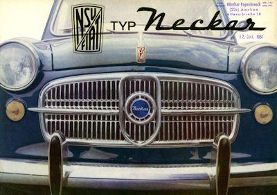 NSU-Fiat Neckar Prospekt 11.1961 0