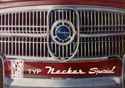 NSU-Fiat Neckar Spezial Prospekt 11.1962 0