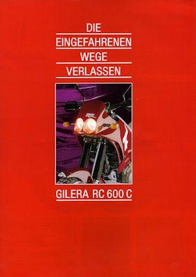 Gilera RC 600 C Prospekt ca. 1990 0