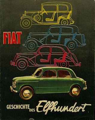 Fiat 1100 Prospekt 1953 0