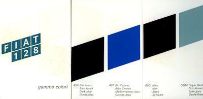 Fiat 128 Farben 1969 0