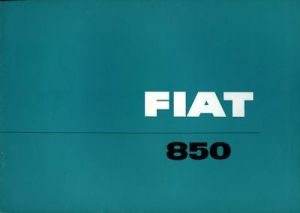 Fiat 850 Prospekt 1966