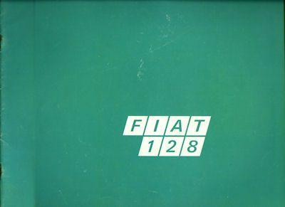 Fiat 128 Prospekt 1972 0