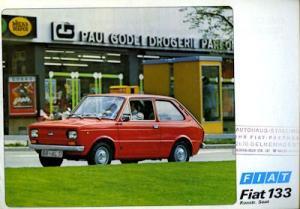 Fiat (Seat) 133 Prospekt 7.1975