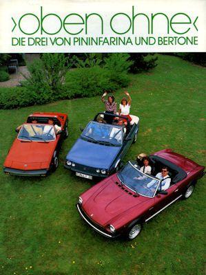 Fiat Cabriolets Prospekt 7.1984 0