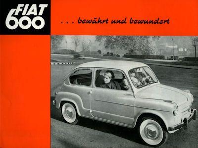 Fiat 600 Prospekt 1958 0
