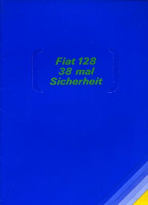 Fiat 128 Prospekt 1969