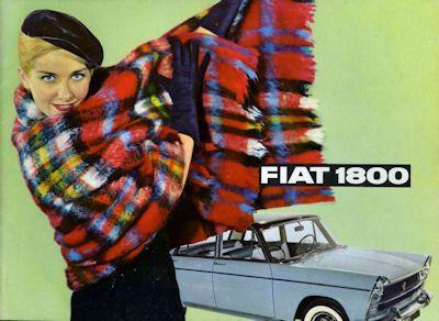 Fiat 1800 Prospekt ca. 1961 0