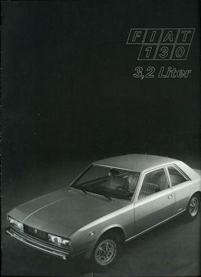 Fiat 130 Prospekt 1974 0