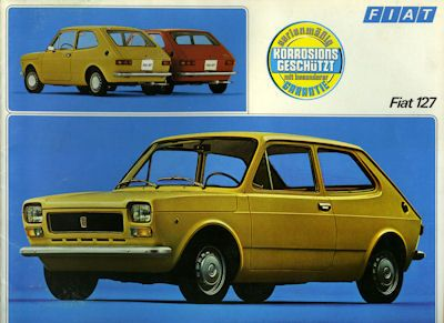 Fiat 127 Prospekt 6.1974 0