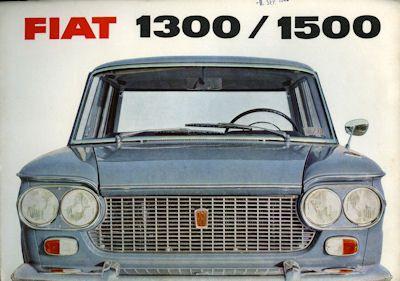 Fiat 1300 / 1500 Prospekt 1962