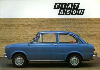 Fiat 850 N Prospekt 1969
