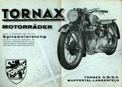 Tornax Programm 1938 0