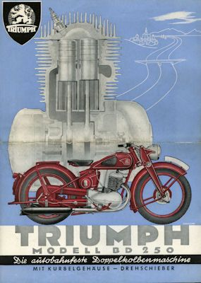 Triumph BD 250 Prospekt 1939
