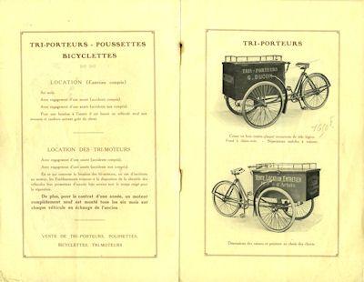 Ducom Fahrrad und Fahrradmotor Prospekt 1920er Jahre 1