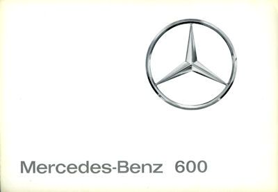 Mercedes-Benz 600 Prospekt 1964 0