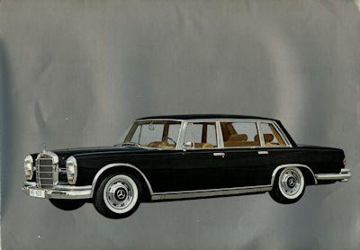 Mercedes-Benz 600 Prospekt 1964 1