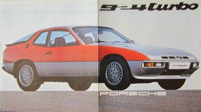 Porsche 924 Turbo Prospekt 1979 0