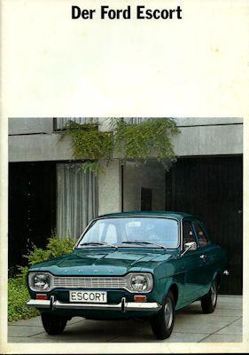Ford Escort Prospekt 1970 0