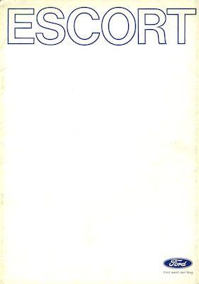 Ford Escort Farben 9.1971 0