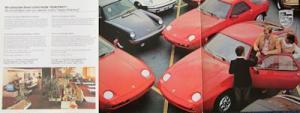 Porsche Prospekt ca. 1980