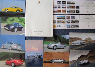 Porsche Pressemappe 2001 0