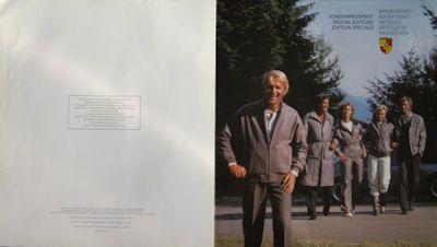 Porsche Werbeartikel Prospekt 7.1988 0