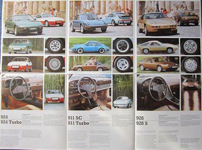 Porsche Programm 1980 1