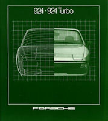 Porsche 924 924 Turbo Prospekt 1981 0