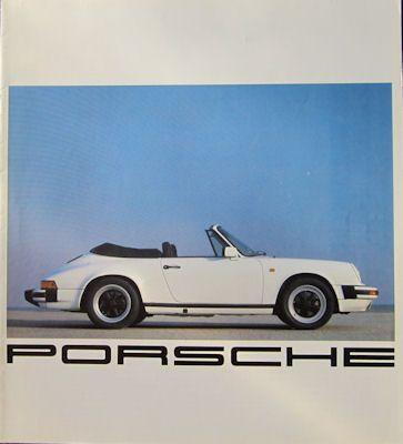 Porsche Programm der Schweiz 1982 0