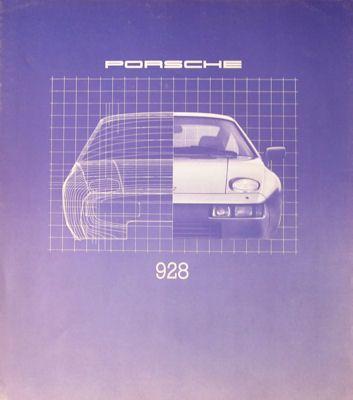 Porsche 928 Prospekt 1980 0