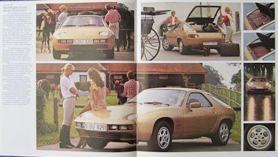 Porsche 928 Prospekt 1980 1